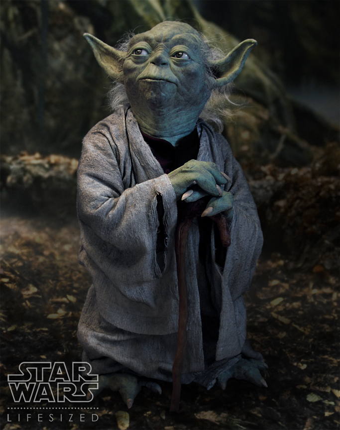 Star Wars Yoda Life Size Figure - Page 21